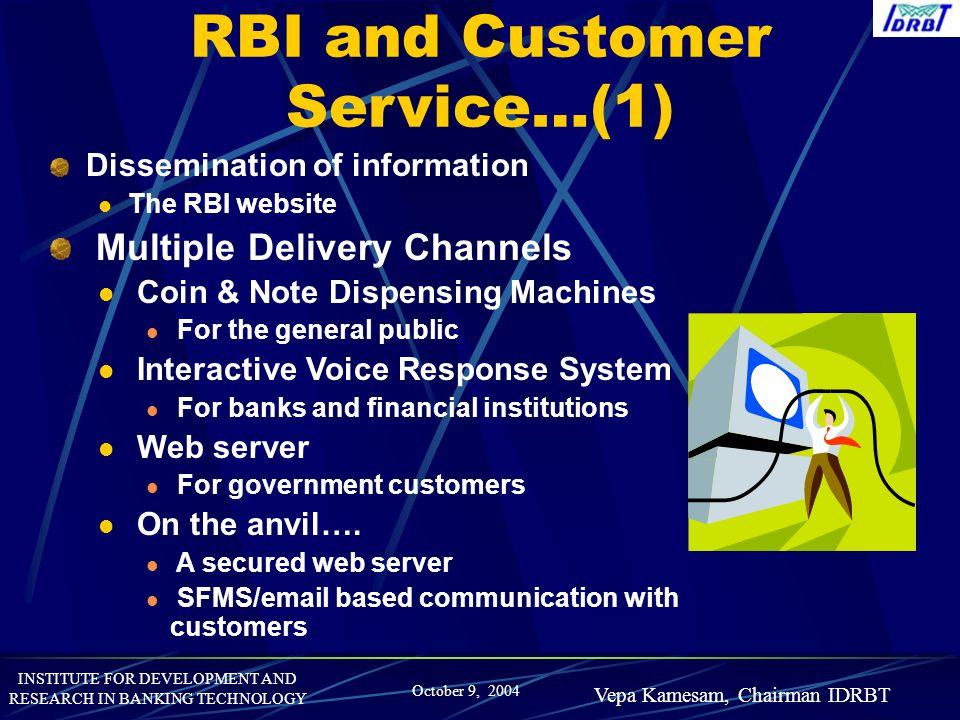 RBI and Customer Service…(1)