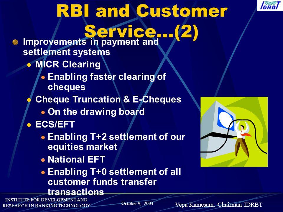 RBI and Customer Service...(2)