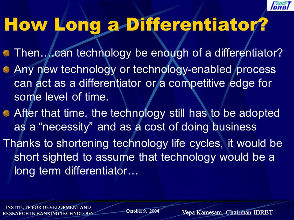 How Long a Differentiator