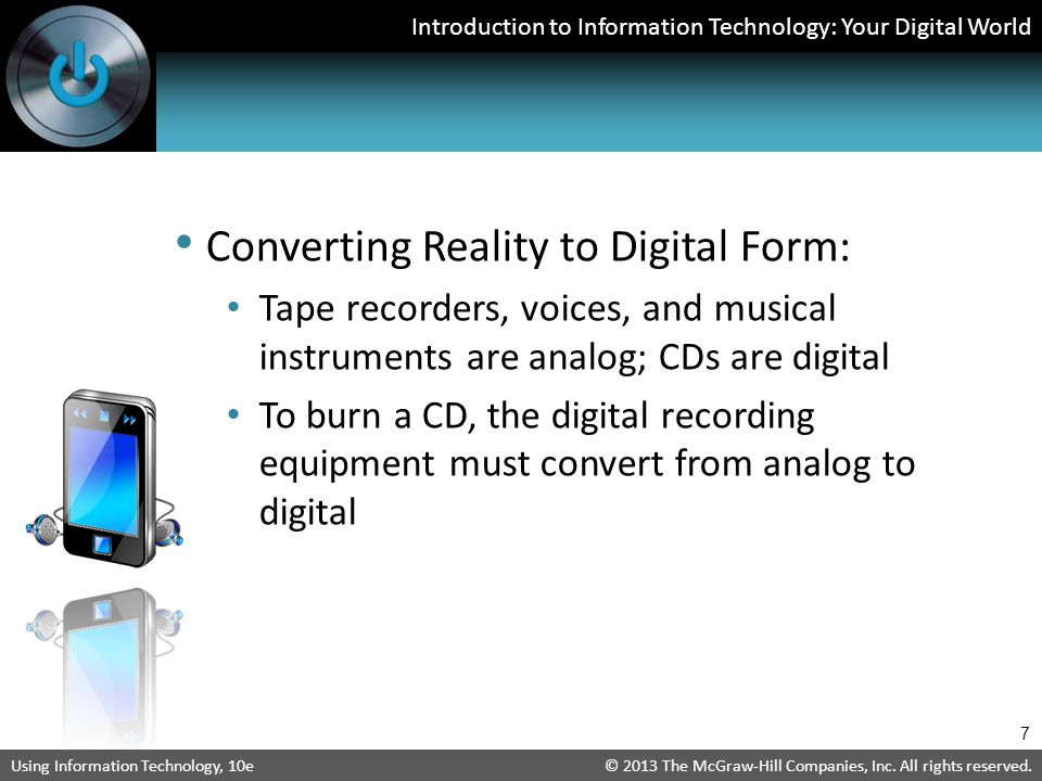 Converting Reality to Digital Form: