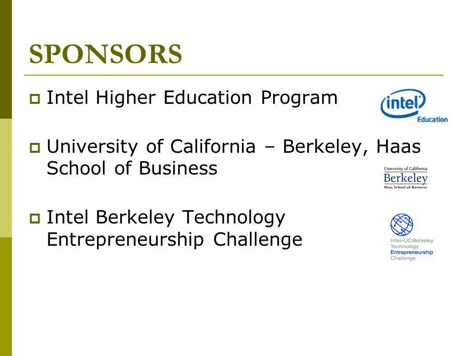 SPONSORS Intel Higher Education Program