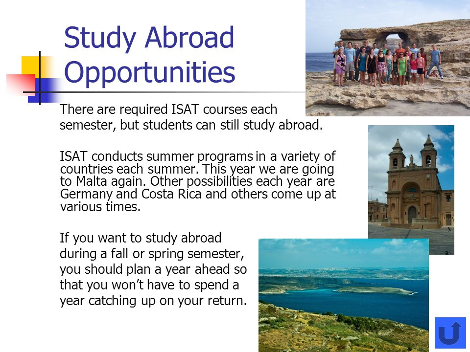 Study Abroad Opportunities