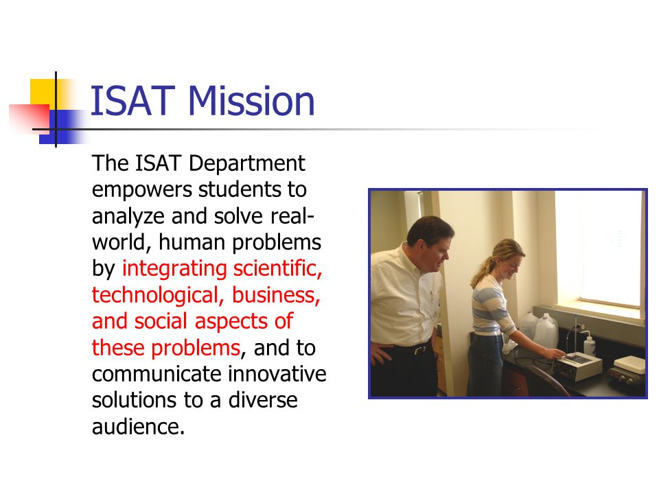 ISAT Mission