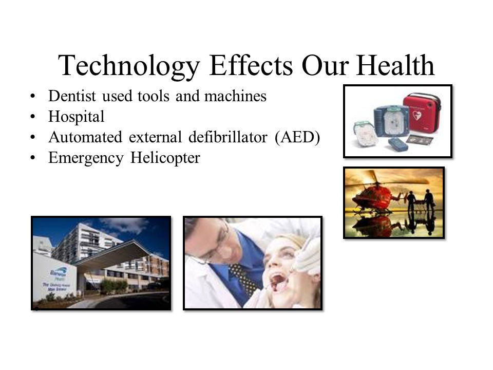 Technology Effects Our Health