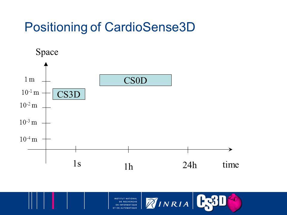 Positioning of CardioSense3D