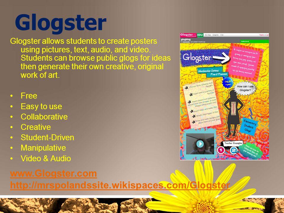 Glogster www.Glogster.com