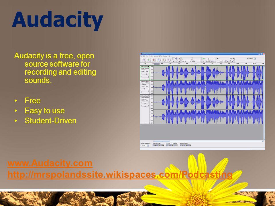 Audacity www.Audacity.com