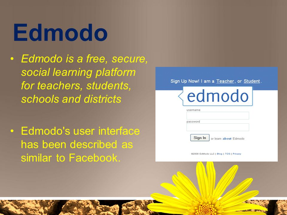 Edmodo Edmodo is a free, secure, social learning platform for teachers, students, schools and districts.
