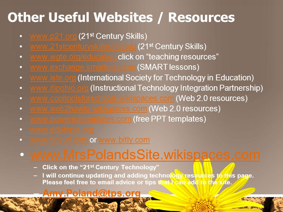 Other Useful Websites / Resources