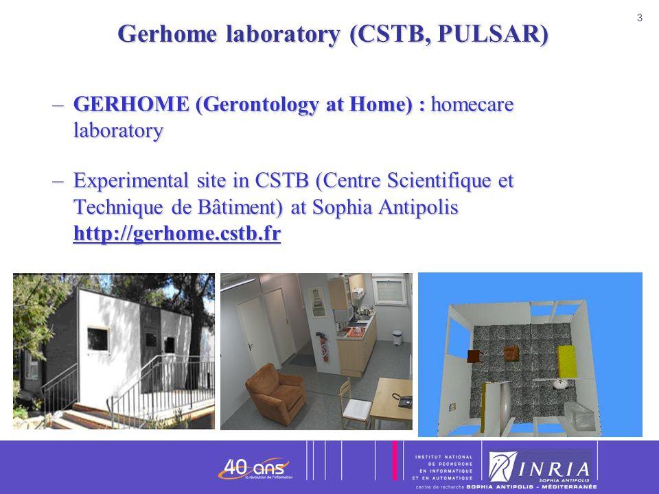 Gerhome laboratory (CSTB, PULSAR)