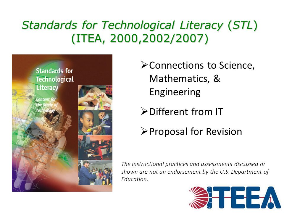 Standards for Technological Literacy (STL) (ITEA, 2000,2002/2007)