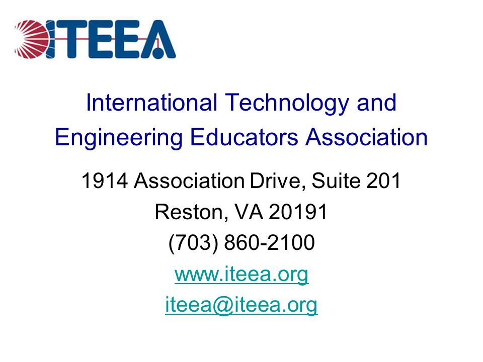 International Technology and Engineering Educators Association