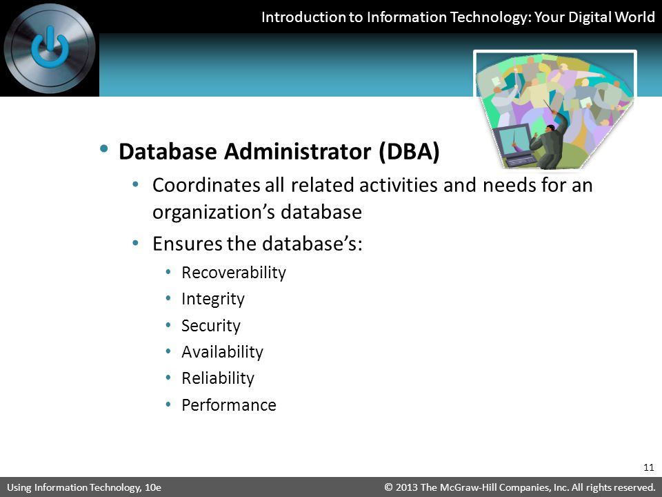 Database Administrator (DBA)