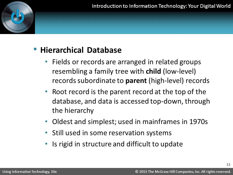 Hierarchical Database