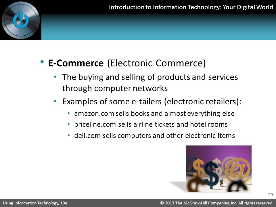 E-Commerce (Electronic Commerce)