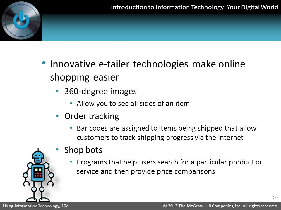 Innovative e-tailer technologies make online shopping easier