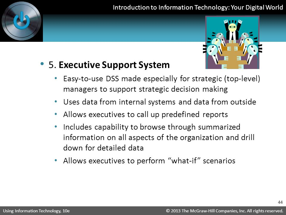 5. Executive Support System