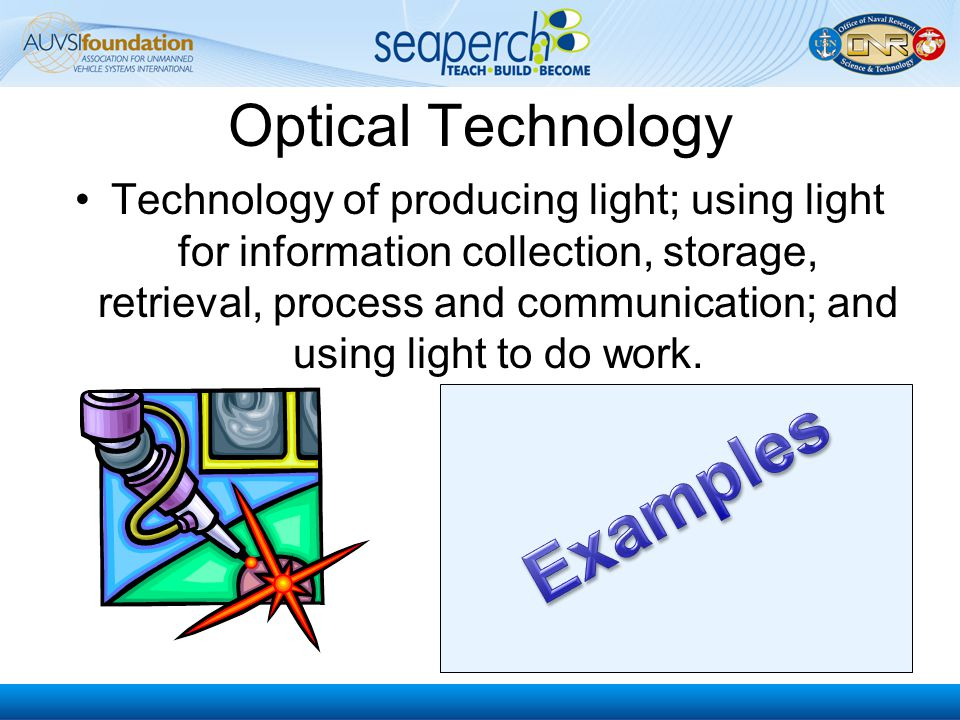 Examples Optical Technology