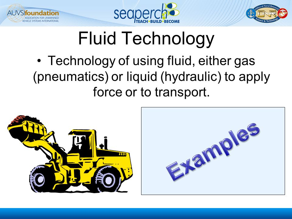 Examples Fluid Technology