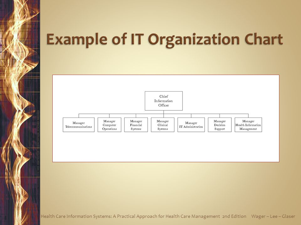 Example of IT Organization Chart