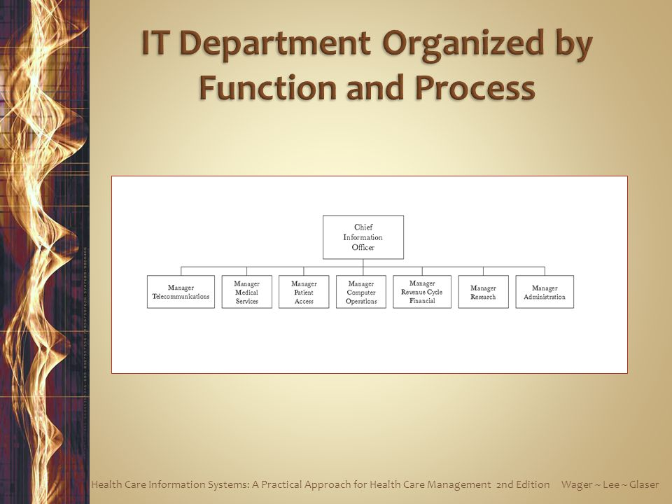 IT Department Organized by Function and Process