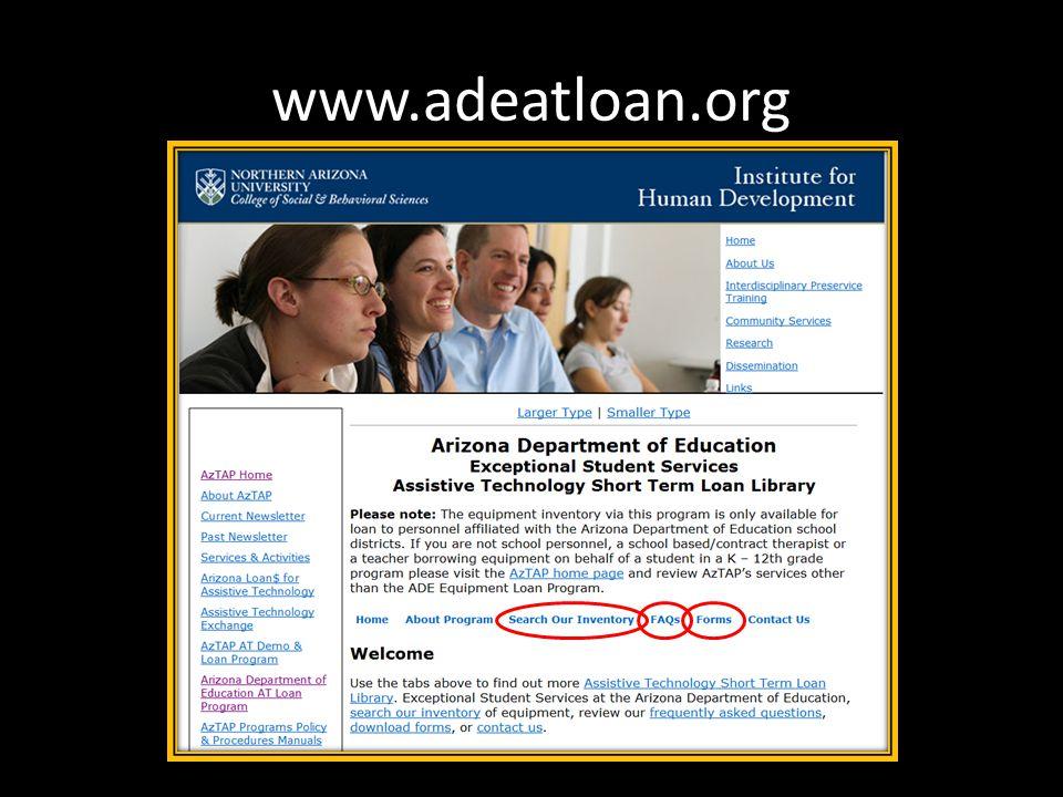 www.adeatloan.org