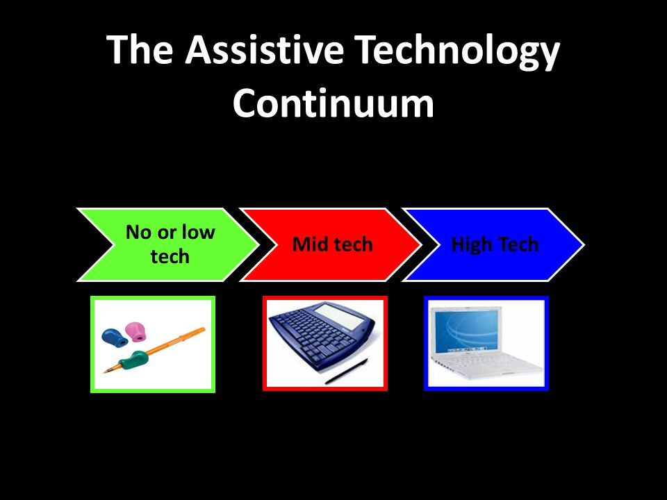 The Assistive Technology Continuum