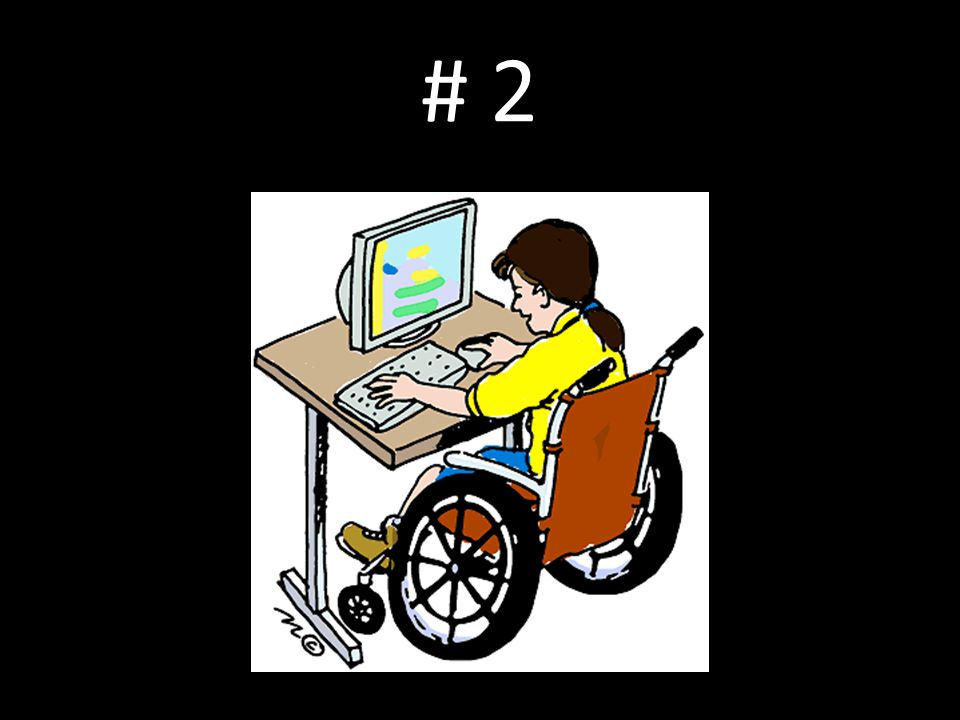 # 2 Myth: AT is really only for students with certain kinds of disabilities