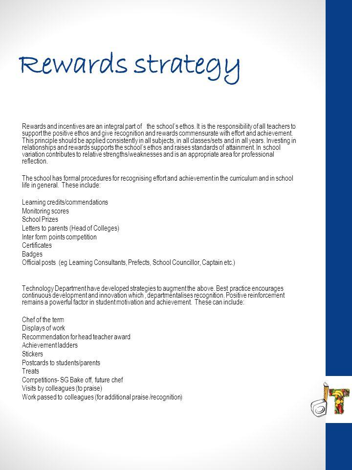 Rewards strategy