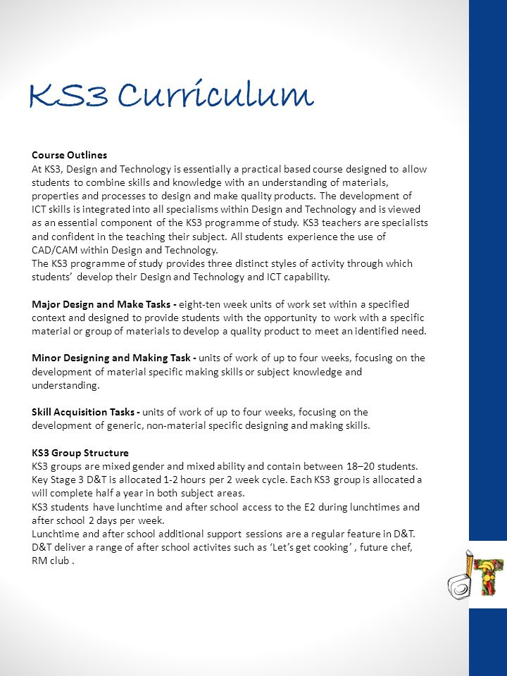 KS3 Curriculum Course Outlines