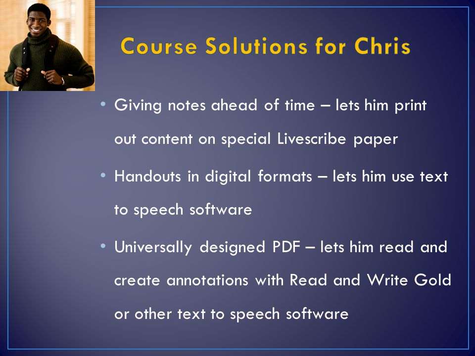 Course Solutions for Chris