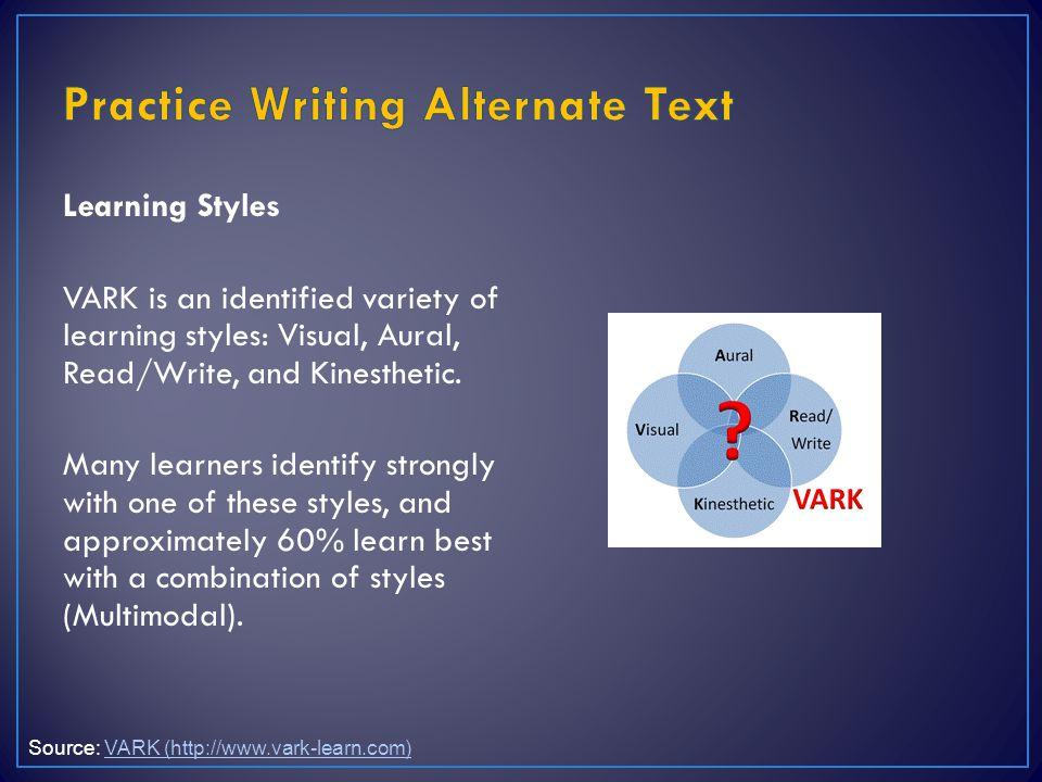 Practice Writing Alternate Text