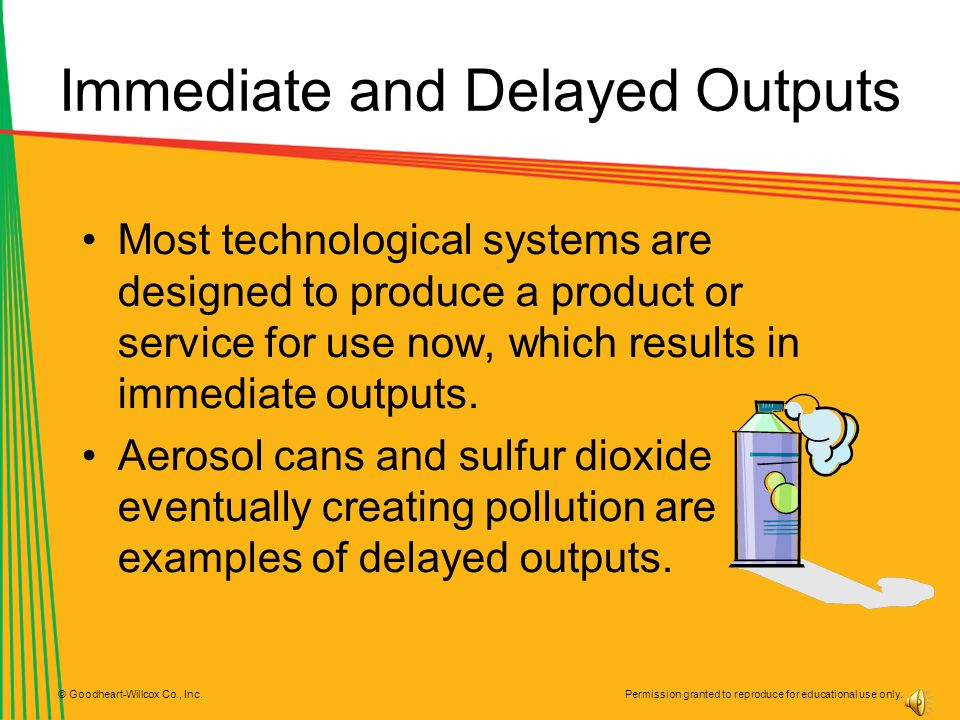 Immediate and Delayed Outputs
