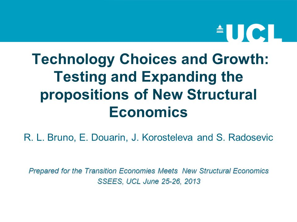 Technology Choices and Growth: Testing and Expanding the propositions of New Structural Economics
