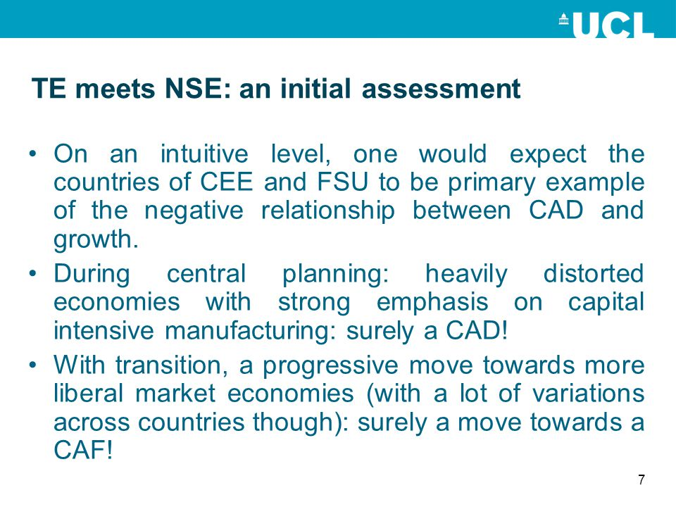 TE meets NSE: an initial assessment