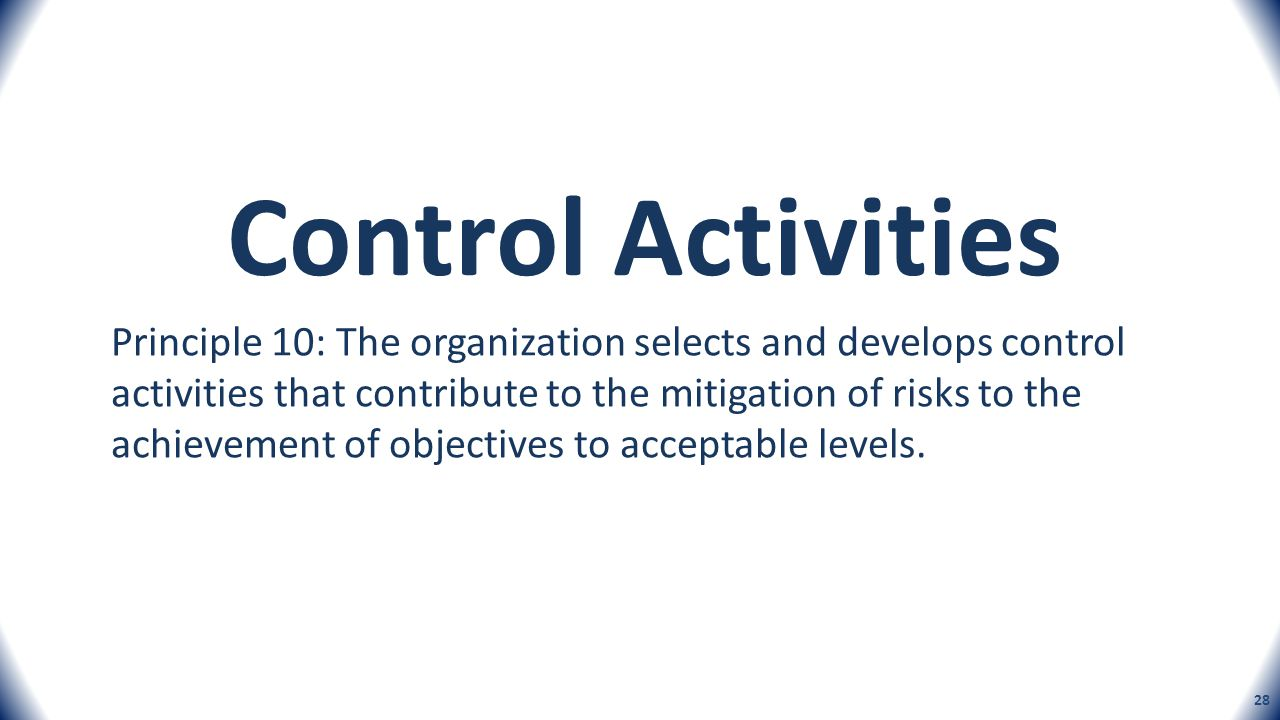 COSO's New Internal Control Framework and IT Considerations