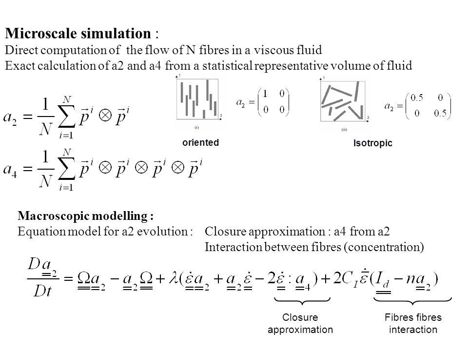 Microscale simulation :