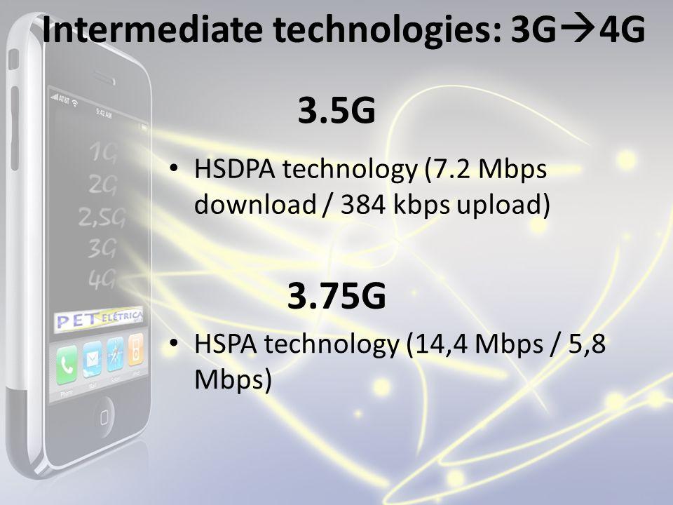 Intermediate technologies: 3G4G