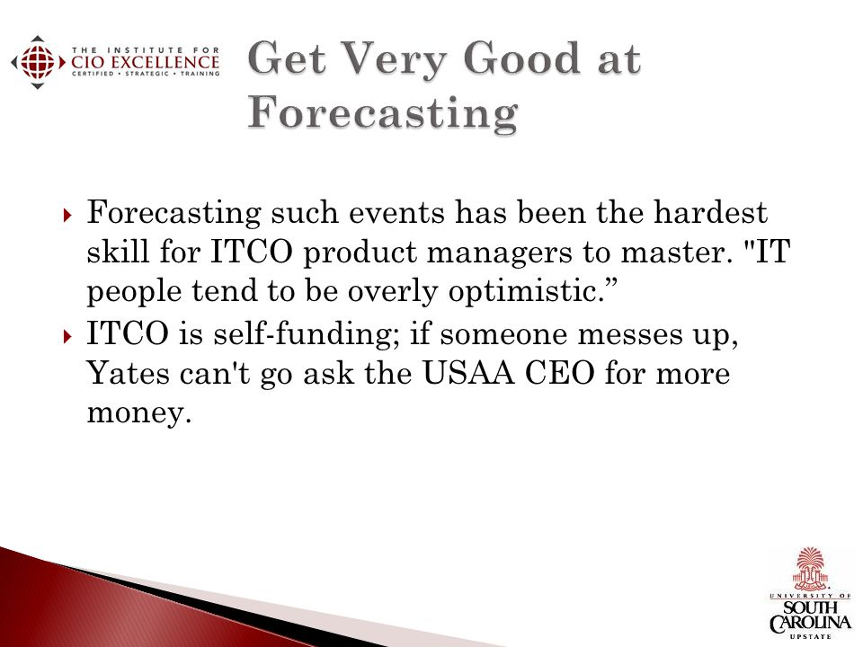 Get Very Good at Forecasting