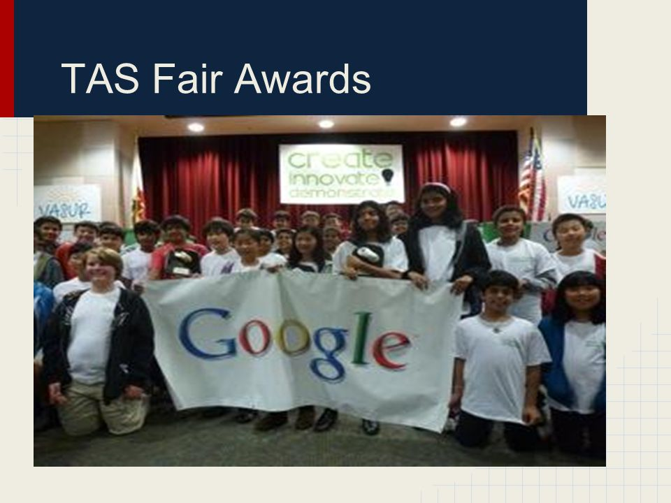 TAS Fair Awards