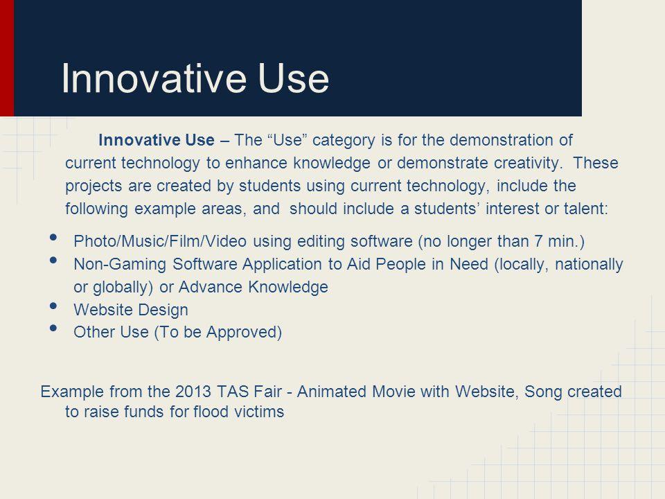 Innovative Use