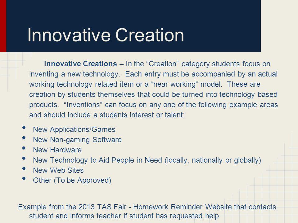 Innovative Creation