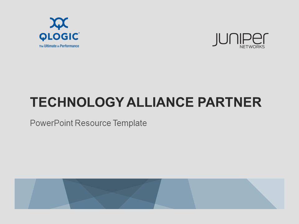 Technology alliance partner