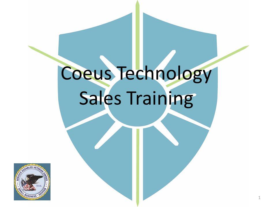 Coeus Technology Sales Training