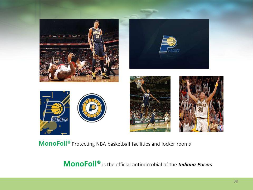 MonoFoil® Protecting NBA basketball facilities and locker rooms