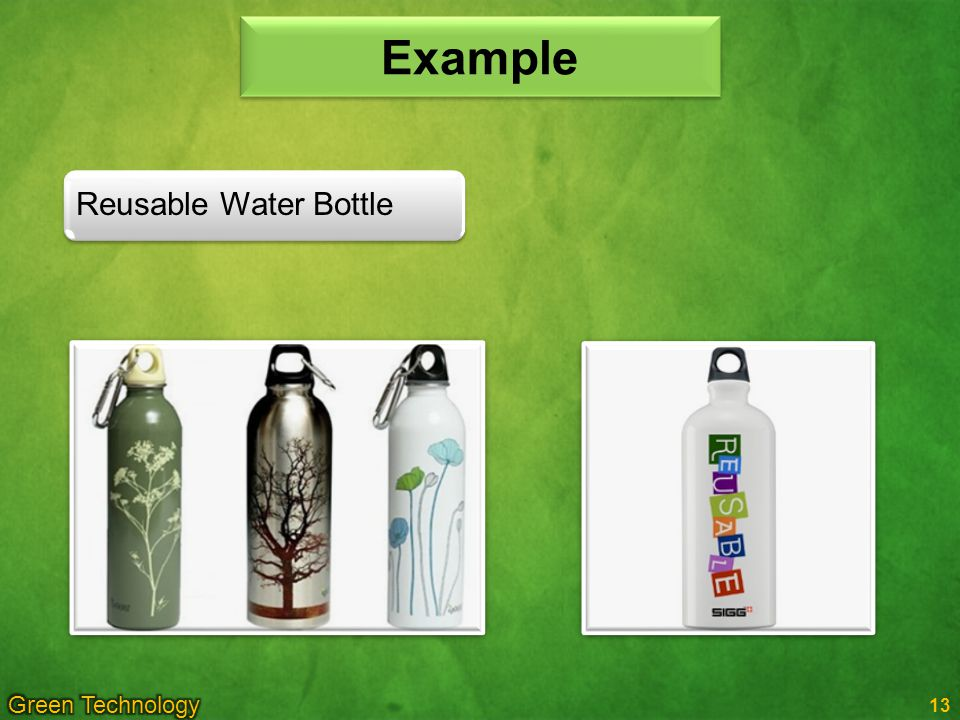 Example Reusable Water Bottle