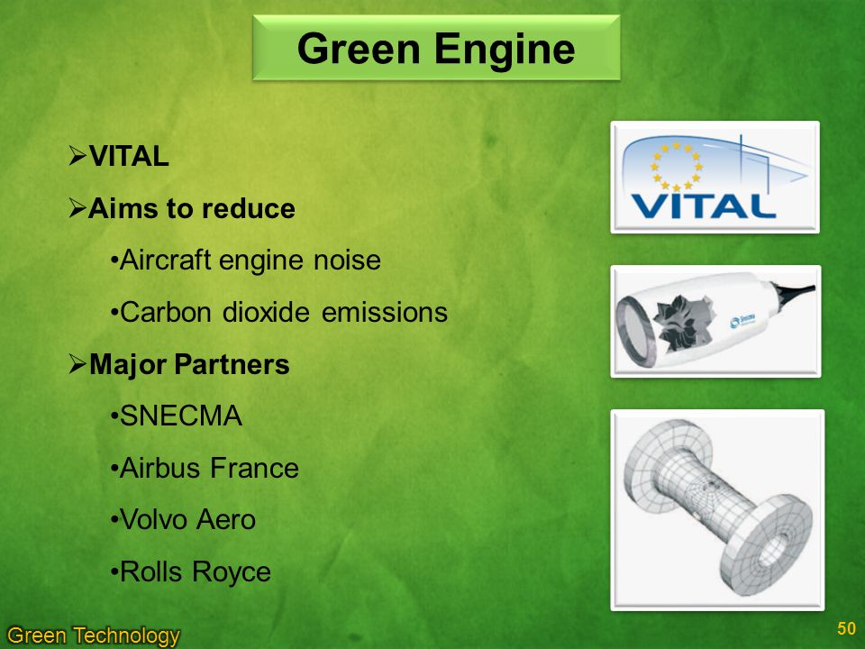 Green Engine VITAL Aims to reduce Aircraft engine noise
