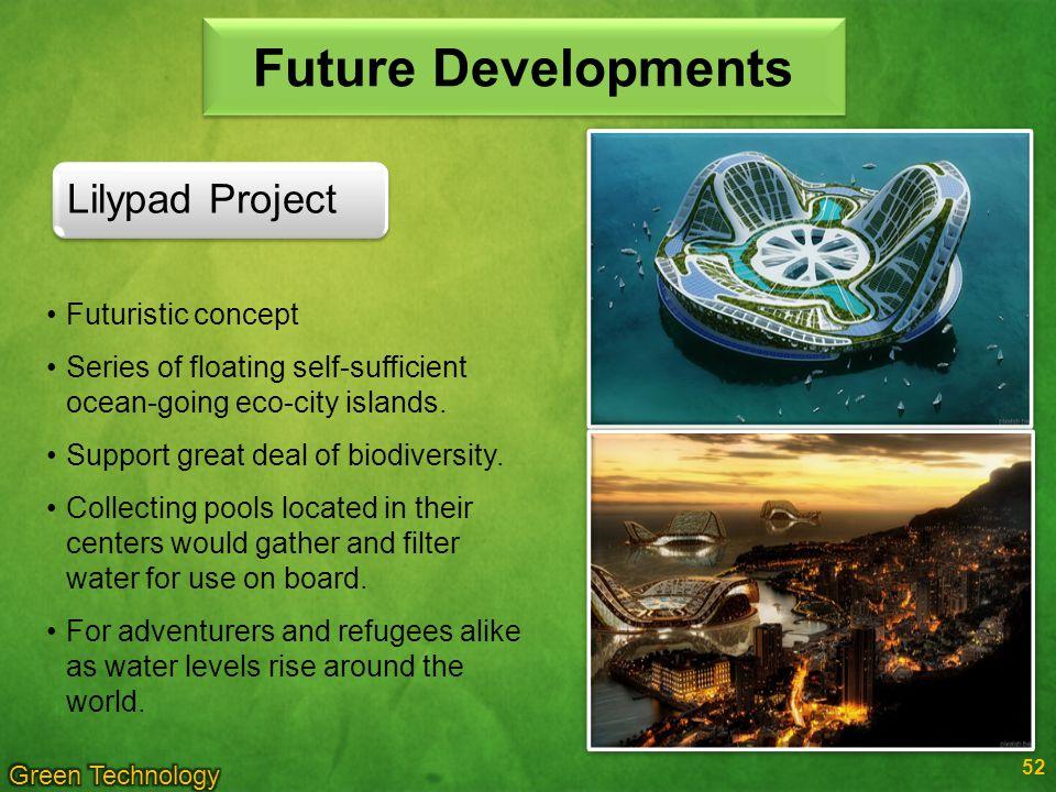 Future Developments Lilypad Project Futuristic concept