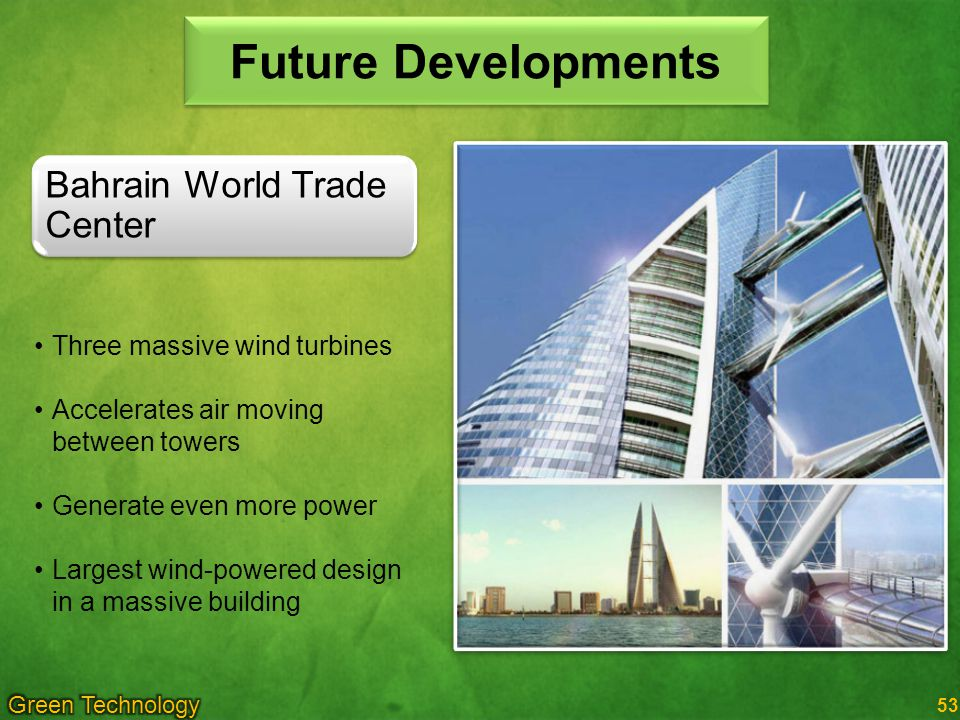 Future Developments Bahrain World Trade Center