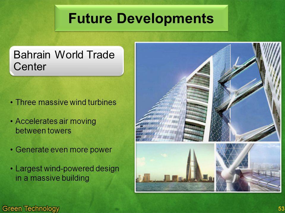 Future Developments Bahrain World Trade Center